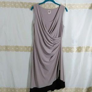 Anne Klein  elegant dress I-559